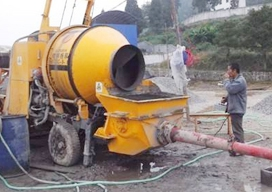 JZC-350B型混凝土攪拌機應用